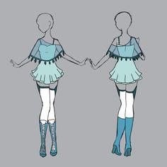 Glaceon inspired outfit by PurpliPie.deviantart.com on @deviantART