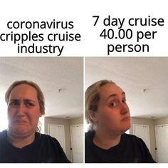 cheap cruise meme