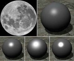 Spheres are well known to be very poor reflectors of light. Yet the Full Moon is fully lit from edge-to-edge.. hmmm  weird huh? #ResearchFlatEarth