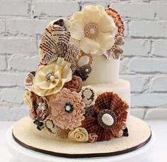 Contemporary Flower Cake