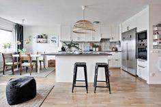 blog decoración nórdica, decoración interiores, diáfano, distribución abierta, inspiración nórdica, open-plan, planta abierta, sin paredes