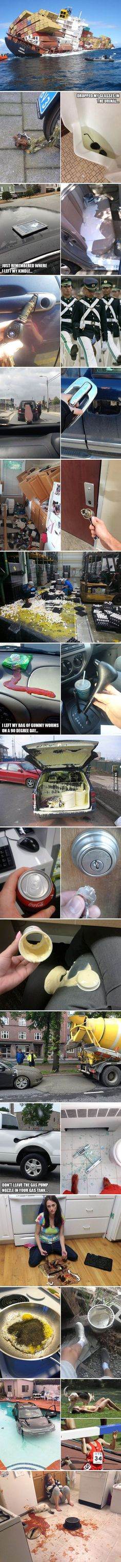 If you think you're having a bad day, just look at these pictures... - 9GAG