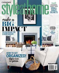 Style at Home Features my Design Studio Cynthia Weber Design My