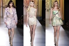 Versace Unveiled Haute Couture For Paris Fashion Week With Atelier Collection Last Sunday