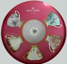 Royal Albert 100 Years Teaware 10 Piece Set Cup & Saucer 1950-1990    This gorgeous boxed-set of Teacups and Saucers features some of the most notable Royal Albert patterns from 1950 to 1990.    AUD$399.00