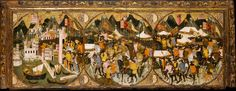 The 1381 Conquest of Naples by Charles of Durazzo, by the Master c.1400