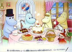 holiday with moomin