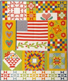 American Jane quilt...so not what I usually like, but this is pretty cool.