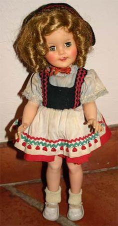 Shirley Temple doll..c.1957-1963 (I had this one..I wish I still had her!)
