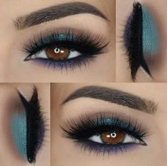 Achieve this stunning eye look using our fave 88 Matte - Color #EyeshadowPalette. #BHCosmetics #EyeMakeup #InstaBabe