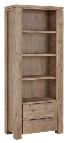 With 4 deep shelves and 2 generously sized drawers on full extension runners, this contemporary bookcase offers ample storage for books, DVDs and frames, and is perfect for displaying your favourite homewares or ornaments. Value Furniture, Bed Furniture, Book Storage, Tall Cabinet Storage, Minimalist Drawers, Bookcase With Drawers, Contemporary Bookcase, Deep Shelves, Drawer Handles