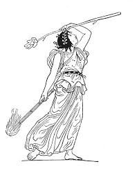 greek vase line drawing - Google Search