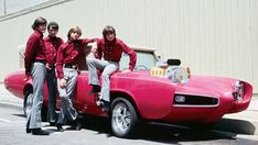 The Monkees (Micky, Michael, Peter, Davy)