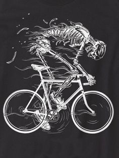 ☆ Ride Like Hell T-shirt Design :: By Howies ☆