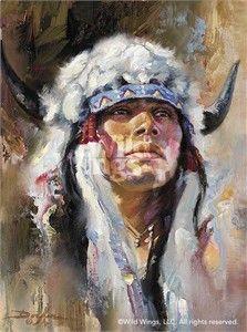 "Russ Docken Original Oil Painting:""The Blackfoot"""