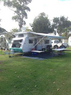 NEW HIRE LISTING! 2004 Jayco Freedom Poptop (Hamlyn Terrace) - Caravan and Camping Hire AUS