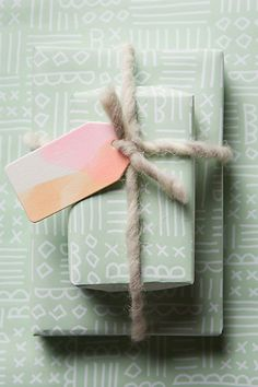 Peppermint Wrapping Paper anthropologie.com #anthrofave