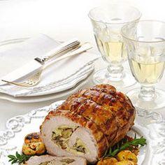 Rotolo con carne di maiale ripieno di castagne - Ricette delle feste | Donna Moderna