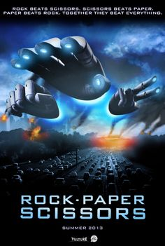 Rock Paper Scissors, the movie