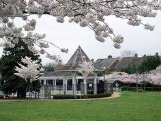 Kentlands Community center, Gaithersburg, MD.  ROA design. New Urbanism. Garden.