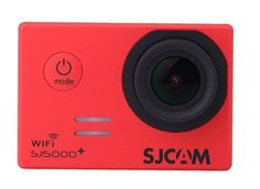 SJCAM SJ5000 Plus Wifi Ambarella A7LS75 1080P 60FPS WiFi Builtin 15 LCD 16MP 170 Wide Angle Sport Action Camera Waterproof Cam HD Camcorder Outdoor for Vehicle Diving Swimming Red ** Find out more about the great product at the image link-affiliate link