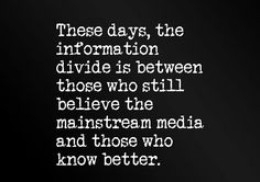 """Those who really know better don't believe any media at all. We're all just pawns in their little game...or that's what they want us to be. And honestly, it doesn't matter which """"side"""" you're on. """"They're"""" not rooting for you, me or anyone else who isn't """"them"""". Basically the billionaire boys club. Reps/Dems/Whatevs. Spend your time hating someone who has different thoughts & posting about what idiots everyone is. Seems like a huge waste of energy and a lot of hatred to be tossing around…"""