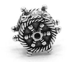 ".925 Sterling Silver "" Boat Wheel "" Charm Bead Compatible with Pandora Chamilia Kay Troll Bracelet: Jewelry: Amazon.com"