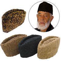 Boy Men Kufi koofi Hat Topi Skull Cap Islamic Muslim Prayer Head Colours