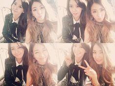 Yoona and Tiffany