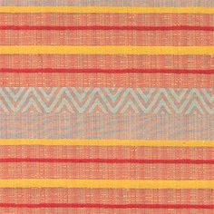 EVELIN Møbelstruktur terracotta stripet