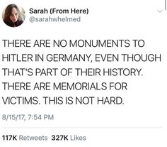 there's a difference between monuments and memorials
