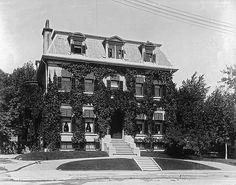 Mrs. John Redpath's house, Sherbrooke Street, Montréal, QC, 1899 supporter for l'institut français évangélique de la Pointe-aux-Trembles, Québec