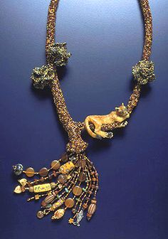 Puma Necklace by Mary Hicklin (Virgo Moon)