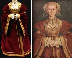 Renaissance, European History, Tudor History, Wives Of Henry Viii, Hans Holbein The Younger, Anne Of Cleves, Catherine Of Aragon, Vintage Gothic, Medieval Dress
