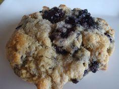 gluten free blackberry scones