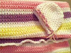 Baby Blanket w Hat