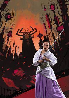Nerd & Cult : Cosplay - Samurai Jack versão feminina