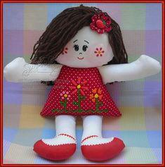 Boneca de pano EM | Flickr - Photo Sharing!