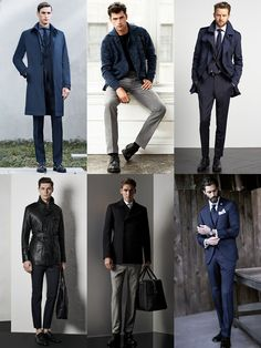 Men's Black Dress Shoes Outfit Inspiration Lookbook