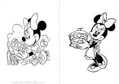 Fazendo a Nossa Festa - Colorir: Minnie - Livrinho para Colorir!