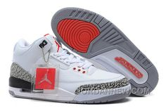 http://www.jordannew.com/air-jordan-3-88-white-fire-redcement-greyblack-for-sale-free-shipping.html AIR JORDAN 3 '88 WHITE/FIRE RED-CEMENT GREY-BLACK FOR SALE FREE SHIPPING Only $89.00 , Free Shipping!