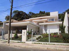 casas com telhado moderno - Pesquisa Google
