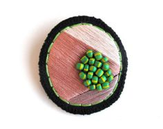 Abstract mineral brooch gem inspiration hand by AnAstridEndeavor