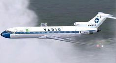 Vintage VARIG Air Lines Boeing 727-200 -  Credits to author