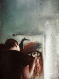 self-portrait // by @picsart artist @gizemkarayavuz