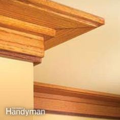 If you want to spruce up a room, or if you love Craftsman style, learn Craftsman window trim and Craftsman door casing here. Craftsman Window Trim, Craftsman Interior, Interior Trim, Craftsman Style, Interior Design, Trim Carpentry, Ceiling Trim, Moldings And Trim, Crown Moldings