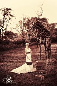 Safari wedding in Africa - priceless