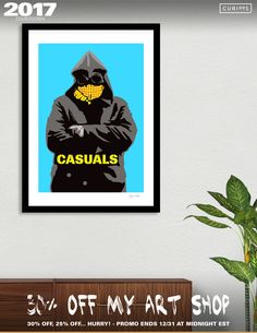 Discover «Casuals-1», Limited Edition Fine Art Print by Jayne Walsh - From $29 - Curioos