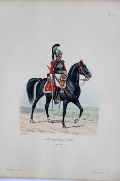 Mousquetaire Noir – 1814/1815 – Histoire de la Maison Militaires du Roi 1814/1830 – Eugène Titeux   Soldaademohler