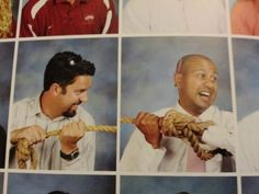 Never waste an opportunity to turn a boring yearbook photo into an awesome one. | 29 Important Life Lessons From Teachers